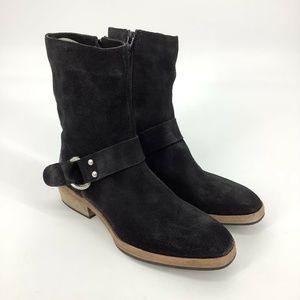 Free People Harness Mid Boots Black EU 38/ US 7.5
